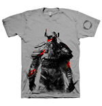 THE ELDER SCROLLS ONLINE Tribesman of the Nords Medium T-Shirt, Grey