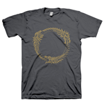 THE ELDER SCROLLS ONLINE Ouroboros Symbol Extra Extra Large T-Shirt, Dark Grey