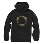 THE ELDER SCROLLS ONLINE Ouroboros Symbol Extra Extra Large Hoodie, Black