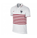 2014-15 France Nike Authentic Polo Shirt (White)