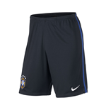 2014-15 Brazil Nike Longer Knit Shorts (Navy)