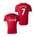 2014-15 Liverpool Home Shirt (Suarez 7) - Kids