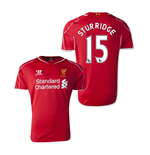 2014-15 Liverpool Home Shirt (Sturridge 15)