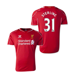 2014-15 Liverpool Home Shirt (Sterling 31)