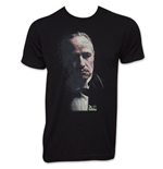 The Godfather Faded Vito Corleone Portrait T-Shirt