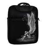 SPIRAL Enslaved Angel Tablet Bag for 10 Inch, Black