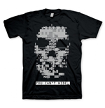 WATCH DOGS Skull Small T-Shirt, Black