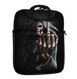 SPIRAL Bone Finger Tablet Bag for 10 Inch, Black