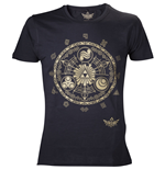 NINTENDO LEGEND OF ZELDA Classic Zelda Medium T-Shirt, Black