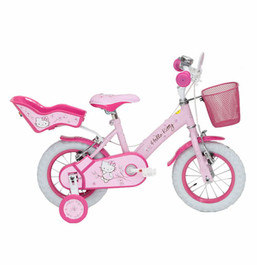 Hello Kitty Bike Romantic 12 Pink