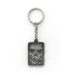 Watch Dogs Metal Keychain Skull
