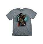DEFENSE OF THE ANCIENTS (DOTA) 2 Roshan Large T-Shirt, Grey