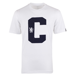2014-15 Chelsea Adidas Cotton Graphic Tee (White)