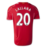 2014-15 Liverpool Home Shirt (Lallana 20)