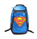 DC COMICS SUPERMAN Rucksack with Novalty Red Cape, Blue/Black