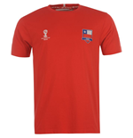 Chile 2014 FIFA Core Tee (Red)