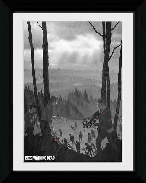 The Walking Dead The Long Way Home Collector Print