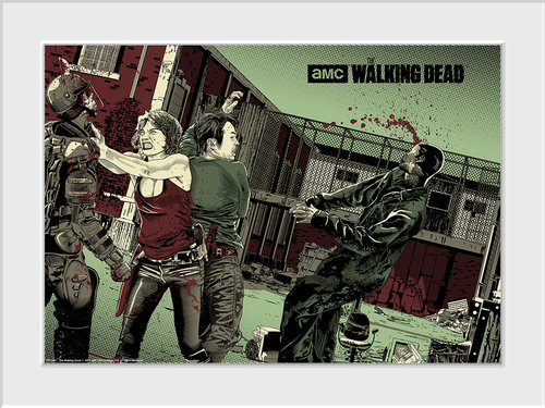 The Walking Dead Maggie Glen Collector Print