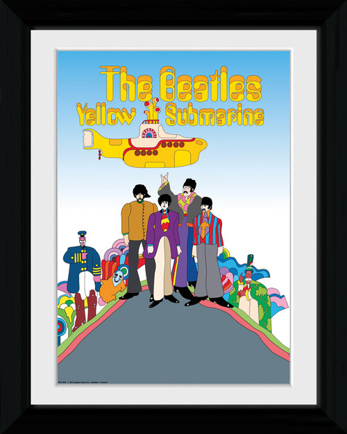 The Beatles Yellow Submarine Collector Print
