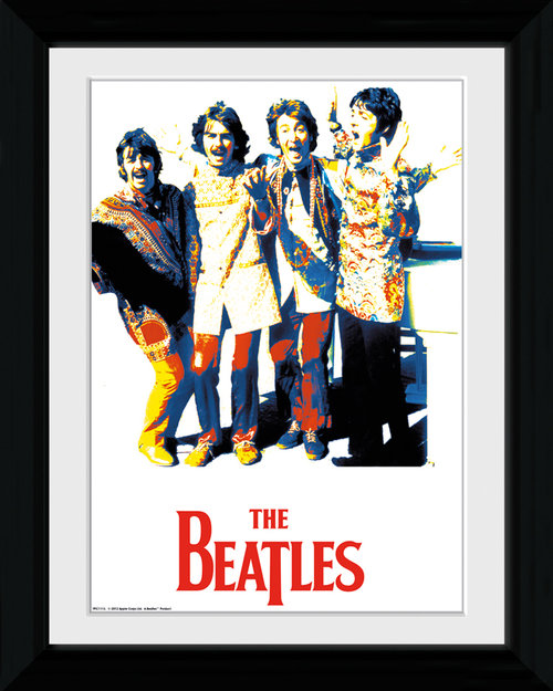 The Beatles Psychedelic Collector Print