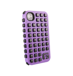 G-FORM iPhone 4 / 4S Extreme Grid Case, Purple Case/Black RPT