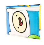 ADVENTURE TIME Finn & Jake Faces Full Colour Bi-fold Wallet, White