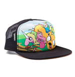 ADVENTURE TIME Snapback Truckers Baseball Cap, Black