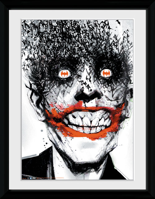 Batman Comic Joker Framed Collector Print