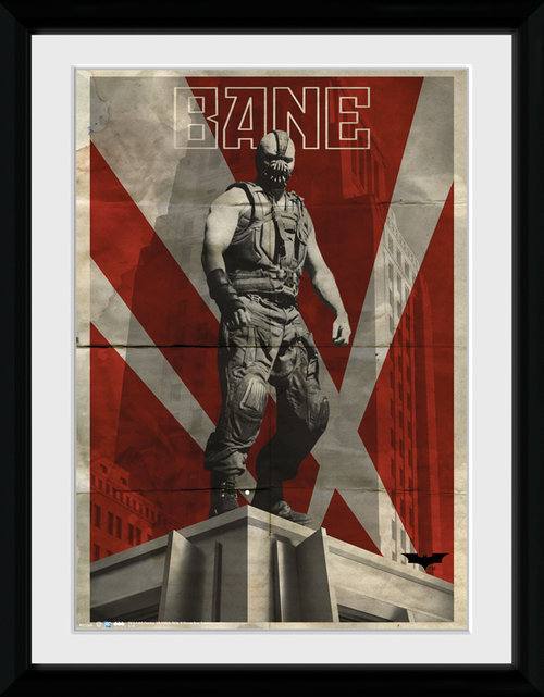 Batman The Dark Knight Rises Bane Framed Collector Print