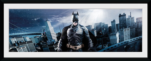 Batman The Dark Knight Rises Film Framed Collector Print