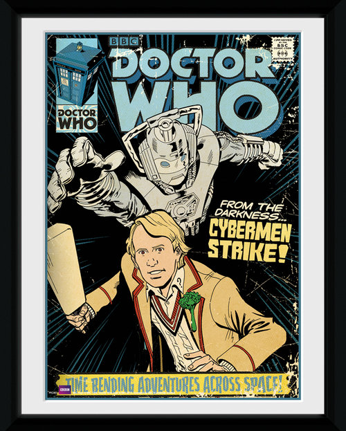 Doctor Who Strike Framed Collector Print