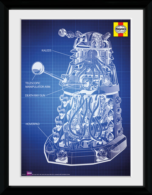 Doctor Who Dalek Framed Collector Print