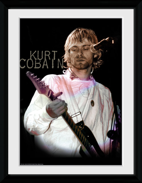 Kurt Cobain Cook Framed Collector Print