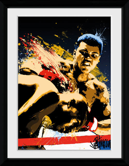 Muhammad Ali Art Framed Collector Print