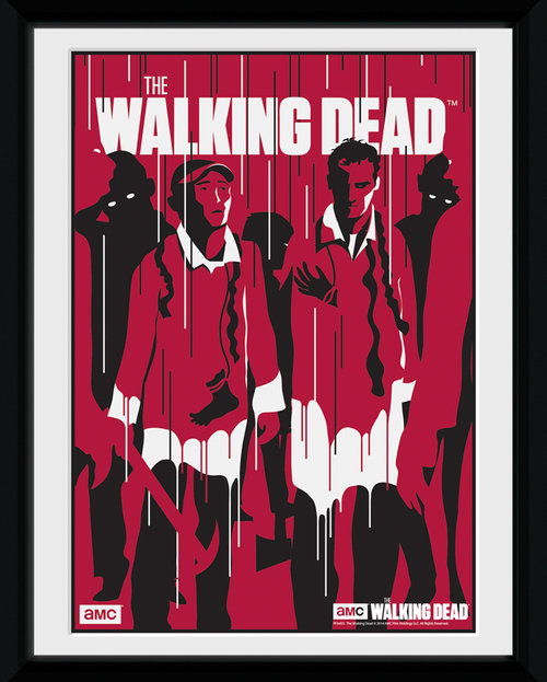 The Walking Dead Guts Framed Collector Print