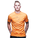 Holland Greatest Moments T-Shirt // Orange 100% cotton