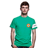 Ireland Captain T-Shirt // Green 100% cotton