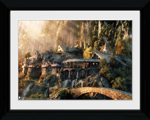Lord of the Rings Fellowship of the Ring Collector Print