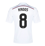 2014-15 Real Madrid Home Shirt (Kroos 8)