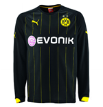 2014-2015 Borussia Dortmund Away Long Sleeve Shirt (Kids)