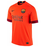 2014-2015 Barcelona Away Nike Football Shirt