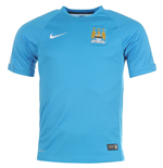 2014-2015 Man City Nike Training Shirt (Blue) - Kids