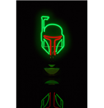 Star Wars Neon Light Boba Fett 16 x 32 cm