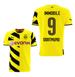 2014-15 Borussia Dortmund Home Shirt (Immobile 9)