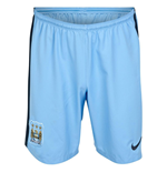2014-2015 Man City Home Nike Football Shorts