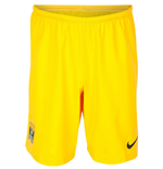 2014-2015 Man City Away Nike Goalkeeper Shorts (Yellow)