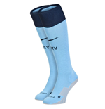 2014-2015 Man City Nike Home Socks (Blue)