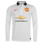 2014-2015 Man Utd Away Nike Long Sleeve Shirt (Kids)