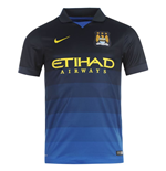 2014-2015 Man City Away Nike Football Shirt