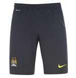 2014-2015 Man City Away Nike Football Shorts (Kids)
